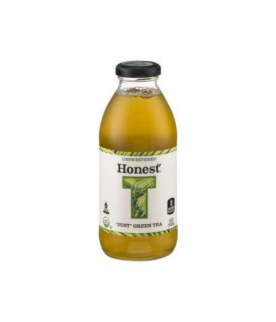 Honest Tea Thé vert non sucré seulement 16 fl oz