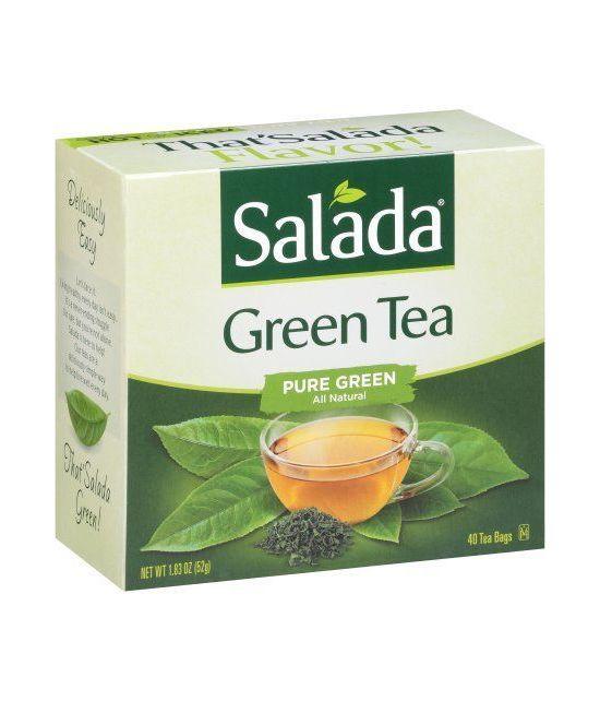 Salada 100% Thé vert Bags- 40 CT