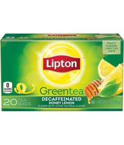 Lipton Thé vert miel citron Sacs de thé 20 ct