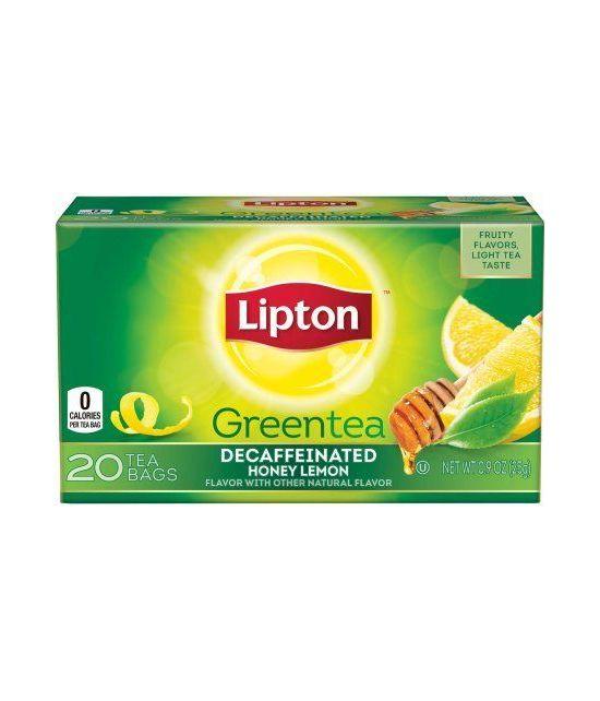 Connu Lipton thé vert au miel et au citron TL94