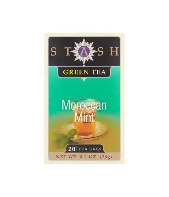 Stash Thé marocain Monnaie Thé vert 20 sachets de thé 26g