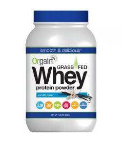 Embouche de protéines de lactosérum en poudre - gousse de vanille 1.82lb