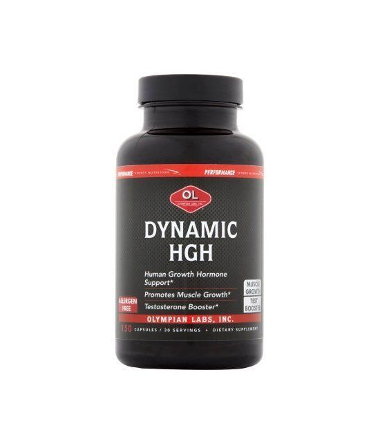 Olympian Labs Dynamic HGH Capsules 150 count