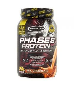 MuscleTech Performance Series Phase8 Lait de protéines Chocolat Compléments alimentaires 25 lb