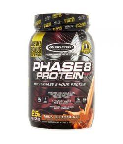 MuscleTech Performance Series Phase8 Lait de protéines Chocolat Compléments alimentaires 25 lb
