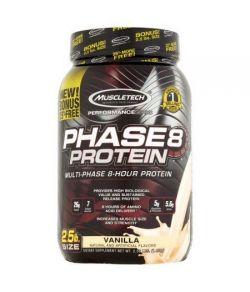MuscleTech Performance Series Phase8 protéines Supplément vanille alimentaire 25 lb