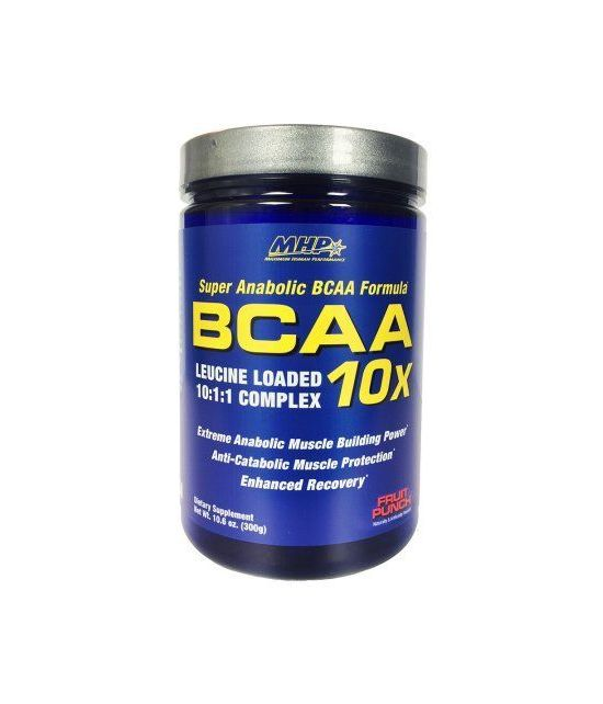 MHP BCAA 10X énergie Fruit Punch 300 G 30 Portions
