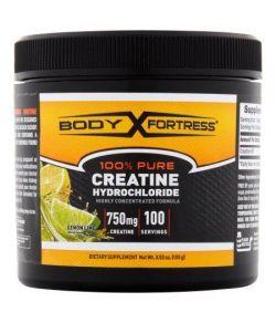 Body Fortress 100% Pure Créatine Chlorhydrate Complément alimentaire Citron Citron vert en poudre 352 oz