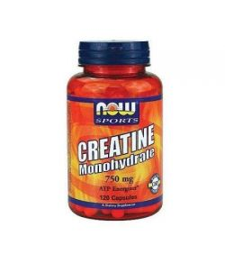 NOW Sport Créatine Monohydrate 750mg capsules 120 ch