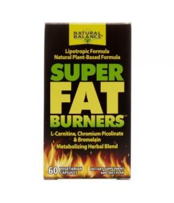 Natural Balance Super Fat Burners 60 Ct