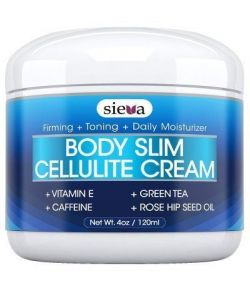 crème de la cellulite avec de la caféine et le rétinol - meilleur traitement triple action anti-cellulite pour le corps raffe