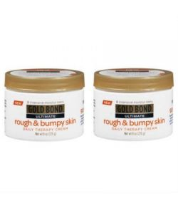Pack 2 Gold Bond Édition Intégrale Rough -amp- Bumpy peau Daily Therapy Cream - 8 oz Chaque