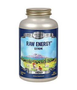 Premier - Raw Energy Extreme Capsule (BTL plastique) 720mg 200CT