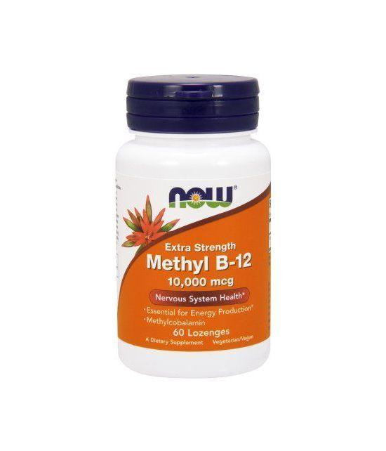 NOW Foods méthyle B-12 Système nerveux Santé 10000mcg 60 Ct