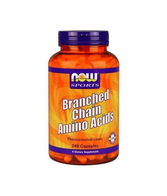 NOW Sport Foods Ramifiés Acides aminés 240 Capsules