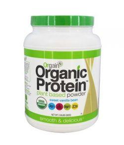 Orgain usine de protéines organiques à base de poudre douce gousse de vanille 203 LB