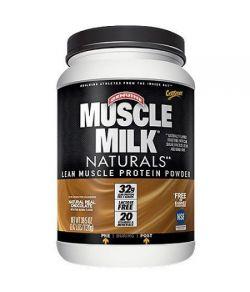 Muscle Milk Naturals réel chocolat naturel musculaire maigre poudre de protéines 395 oz