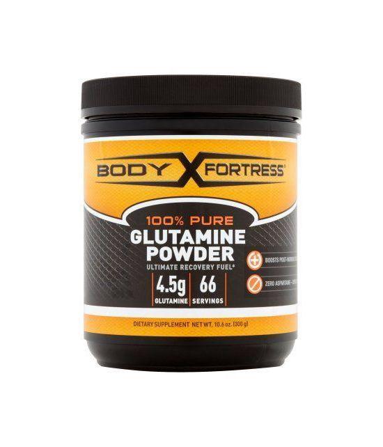 Body Fortress L-Glutamine en poudre 106 oz
