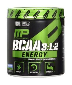 MusclePharm BCAA 3- 1- 2 énergie bleu framboise 30 Portions