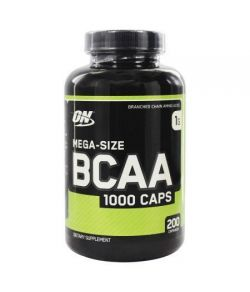 OPTIMUM NUTRITION - BCAA 1000 Caps 1000 mg. - 200 Capsules