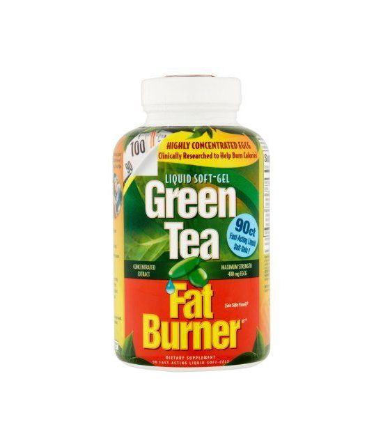 Green Tea Fat Burner supplément alimentaire 90 ct