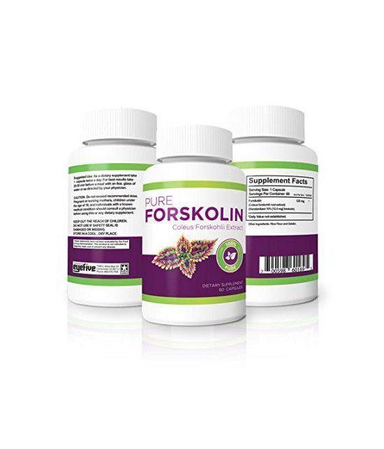 100% Pure forskoline - Force maximale brûleur de graisse et de muscle Builder