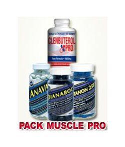 PACK PRO ULTIMATE PRO MUSCLE 4 PRODUITS