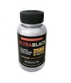 ULTRA BLACK 25 MG D'EPHEDRA 100CAPS