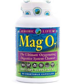 AEROBIC LIFE MAG O7 OXYGÈNE OXYGÈNE SYSTÈME DIGESTIF NETTOYANT 90 GÉLULES
