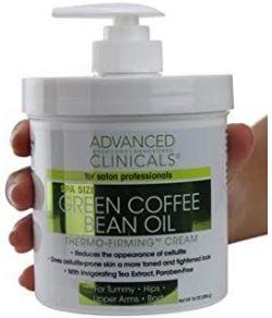 ADVANCED CLINICALS GREEN COFFEE BEAN OIL THERMO 480 ML