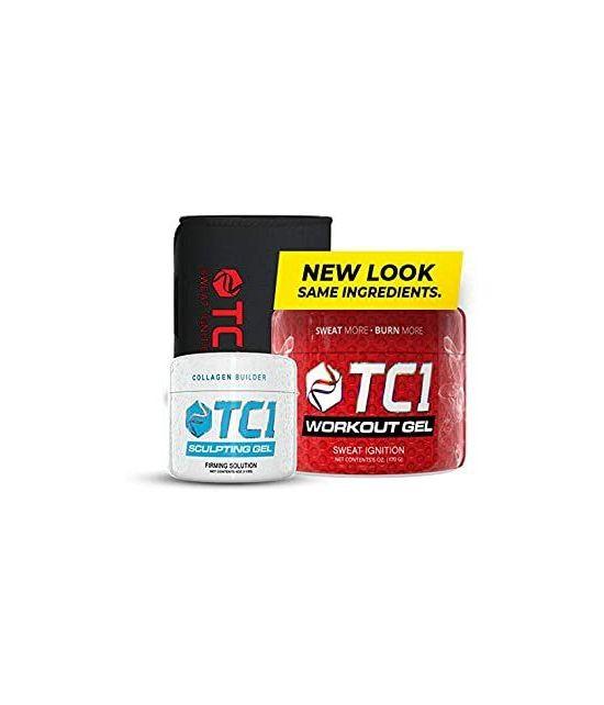TC1 WAIST BELT BUNDLE WITH TC1 SCULPT AND TC1 ADVANCED TOPICAL SWEAT