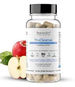 TRUCLEANSE APPLE CIDER VINEGAR 60 CAPS