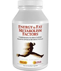 ANDREW LESSMAN ENERGY and FAT METABOLISM FACTORS 30 CAPSULES