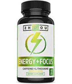 ZHOU ENERGY FOCUS 60 VEGCAPS