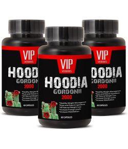 SUPER HOODIA GORDONII POWER EXTRAIT PUR DE HOODIA GORDONII 2000MG 3 FLACONS 180 CAPSULES