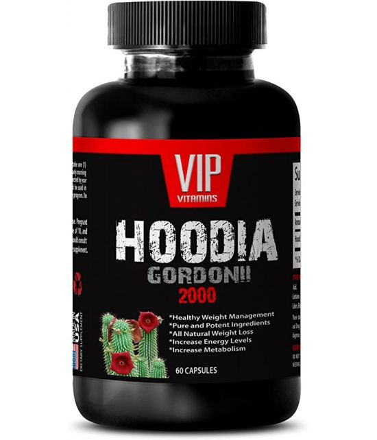 EXTRAIT DE HOODIA GORDONII 2000MG HOODIA ULTRA 1 BOUTEILLE 60 CAPSULES