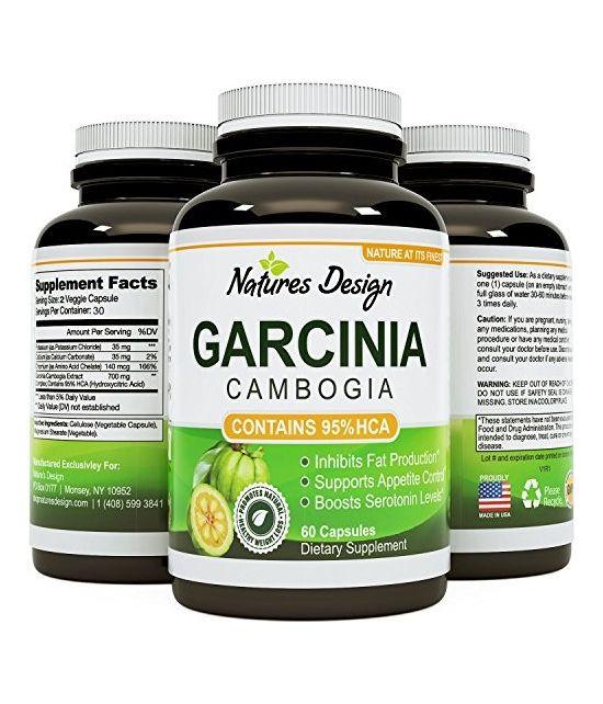 HCA Garcinia Cambogia Bloqueur Glucides et Graisses 60 caps