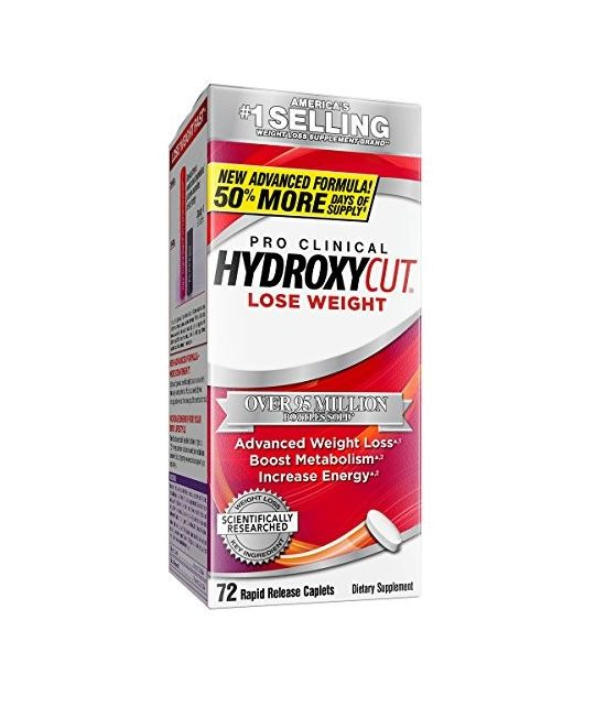 Hydroxycut Pro Clinical 72 capsules