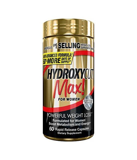 Hydroxycut Max, Formulee pour les Femmes 60 Caps