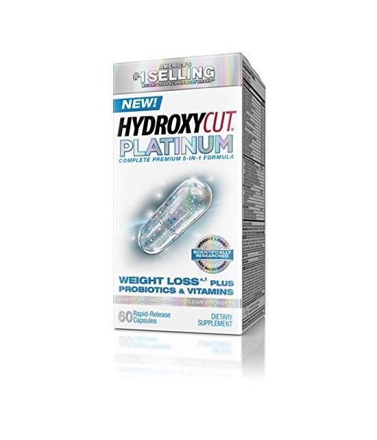 Hydroxycut Platinum 60 Count