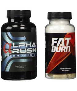 Alpha Rush and Fat Burn X Combo Pack