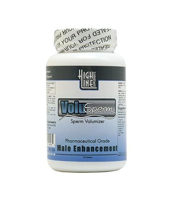 Volusperm Semen Volumizer Pills - All Natural - increase sperm volume up to 300%