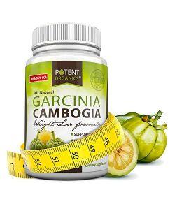 Garcinia Cambogia Pure Extrait 95% HCA-Capsules