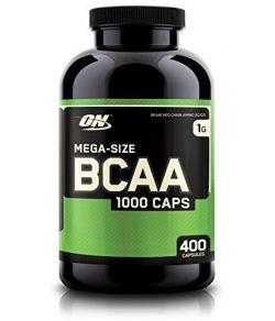 BCAA Capsules, 1000mg, 400 Caps